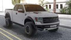 Ford Raptor White para GTA San Andreas