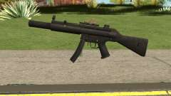 Silenced MP5 with Eotech para GTA San Andreas