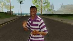 Ballas Member 2 GTA V para GTA San Andreas