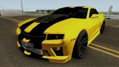 Mygarage Chevrolet Camaro SS de la Construcción (Izmir auto) para GTA San Andreas