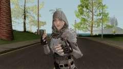 PUBGSkin 4 Skin Female ByLucienGTA para GTA San Andreas