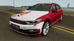Volkswagen combi B8 MEY Construcción (Izmir-Mié) para GTA San Andreas
