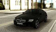 BMW M6 Black para GTA San Andreas