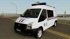 Ford Transit - Politia Romana para GTA San Andreas