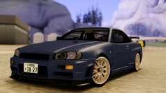 Nissan Skyline R34 GODZILLA para GTA San Andreas