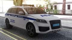 Audi Q7 Police