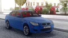BMW M5 E60 Blue Line para GTA San Andreas