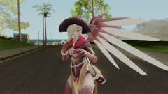 Witch Mercy from Overwatch para GTA San Andreas