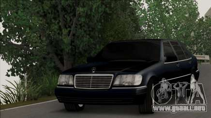 Mercedes-Benz S600 W140 Final Version para GTA San Andreas