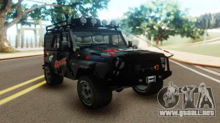 UAZ Hunter Offroad para GTA San Andreas