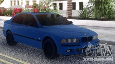 BMW M5 E39 Blue Sedan para GTA San Andreas