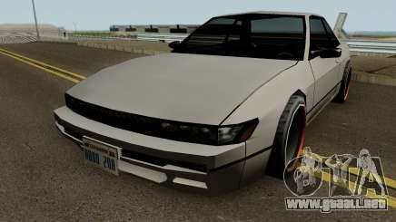 Nissan Silvia S13 For Low PC para GTA San Andreas