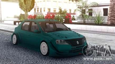 Renault Logan WTCC para GTA San Andreas