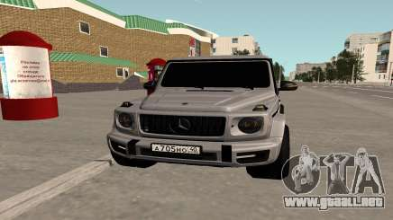 Mercedes-Benz G63 AMG 2018 Black para GTA San Andreas