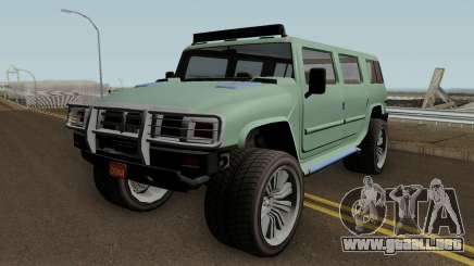 Mammoth Patriot Custom v2 GTA V IVF para GTA San Andreas