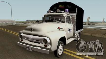 Ford F100 Con Estacas para GTA San Andreas