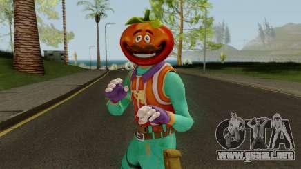 Fortnite TomatoHead Skin para GTA San Andreas