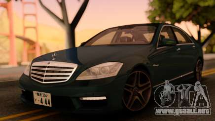Mercedes-Benz S65 AMG Japanese HQ para GTA San Andreas