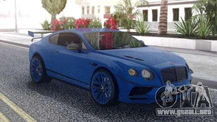 Bentley Continental Supersports 2017 para GTA San Andreas