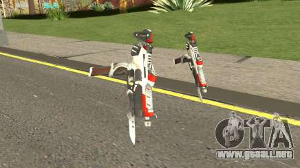Sombra Talon Weapon para GTA San Andreas