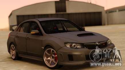 Subaru Impreza STi RHD para GTA San Andreas