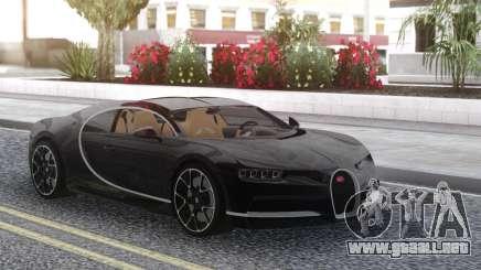 Bugatti Chiron Black para GTA San Andreas