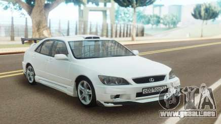 Lexus IS300 Full Tuning para GTA San Andreas