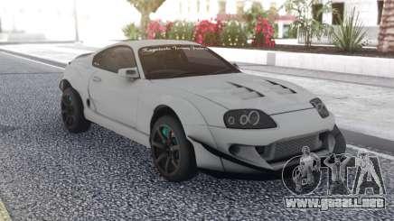 Toyota Supra White para GTA San Andreas