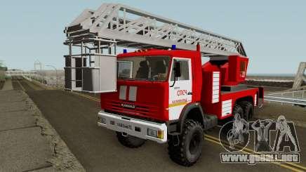 KamAZ-43114 AL-50 Kaliningrado para GTA San Andreas