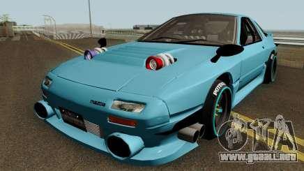 Deuces Mazda RX-7 Savanna FC3S para GTA San Andreas