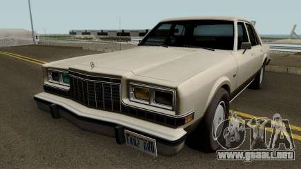 Dodge Diplomat 1981-1987 para GTA San Andreas