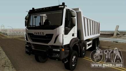 Iveco Trakker Dumper 10x4 para GTA San Andreas