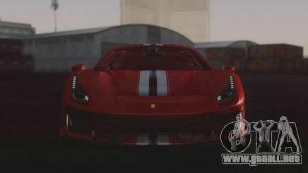 2019 Ferrari 488 Pista para GTA San Andreas