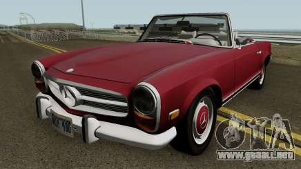 Mercedes-Benz 280SL W113 1970 (US-Spec) HQ para GTA San Andreas
