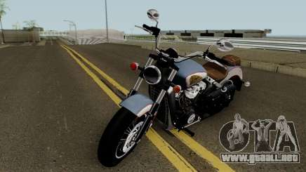 Indian Scout 2018 para GTA San Andreas