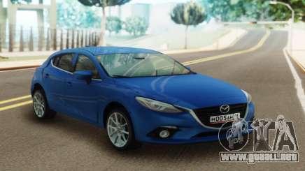 Mazda 3 Blue para GTA San Andreas