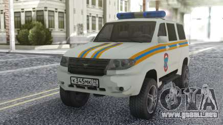 UAZ Patriot MES para GTA San Andreas