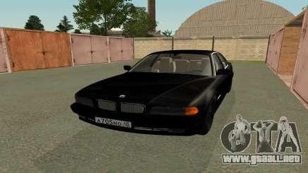 BMW 730i E38 de la película Boomer para GTA San Andreas