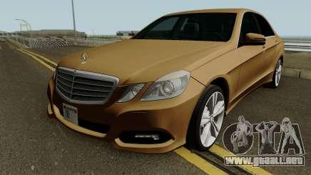 Mercedes-Benz E500 HQ para GTA San Andreas