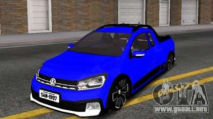 Volkswagen Saveiro Cross G7 with Sound para GTA San Andreas