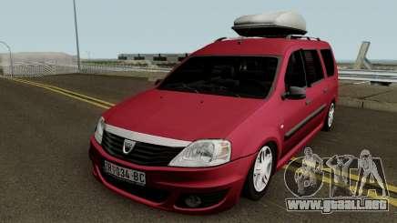 Dacia Logan MCV Facelift 2010 para GTA San Andreas