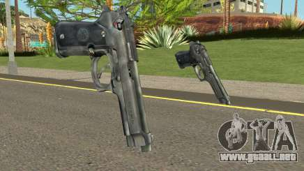Colt 45 HQ v2.0 (With HD Original Icon) para GTA San Andreas