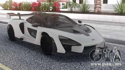 McLaren Senna 2019 Carbon White para GTA San Andreas