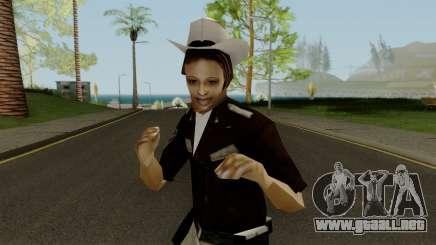 Cop Girl para GTA San Andreas
