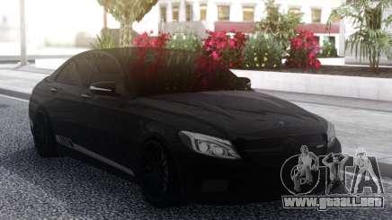Mercedes-Benz C63S Black AMG para GTA San Andreas