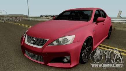 Lexus IS-F 2011 para GTA San Andreas