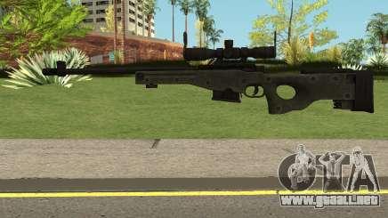 L96 Sniper Rifle para GTA San Andreas