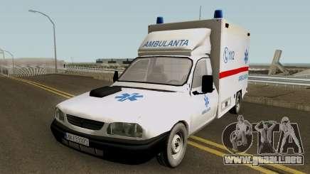 Dacia Papuc Ambulanta 2002 para GTA San Andreas