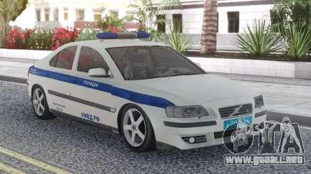 Volvo S60 Police para GTA San Andreas