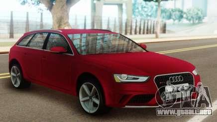 Audi A4 Avant 2012 para GTA San Andreas